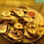 "a ""dozen"" oysters"