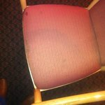Stained, dirty chair #1.