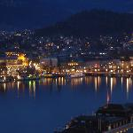 Luzern (night) - view from room balcony.