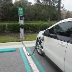 Love this electric car hook-up