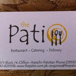 The Patio - Business Card