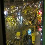 L'avenue des Ternes vue de notre chambre