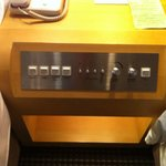 Nostalgic Control Console in the Bedroom