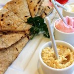 Dips and Pita bread