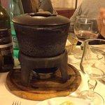 la fondue!!