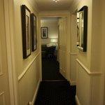 Corridor from door to the living room
