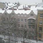 Вид из окна номера 7-го этажа