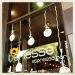 Inviting espresso bar front :-)