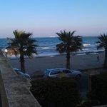 schöner Blick zum Strand