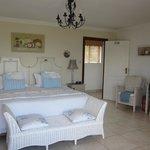 Zimmer mit Lagunen- und Meerblick