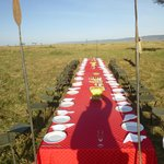 Breakfast in the Mara