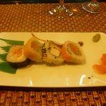 Sushi at Hibachi