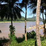 View on Mekong river from the hotel (the river is across the street)