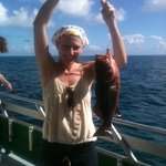 "19"" grouper. caught 12/15/2012 aboard the Marathon Lady morning trip."