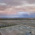 Rainstorm and Rainbow over Las Vegas