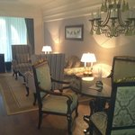 dining area of suite