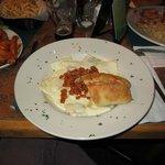 Butternut squash ravioli - special