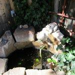 nice fountain - very relaxing