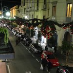 Christmas in Sorrento, from our Balcony.