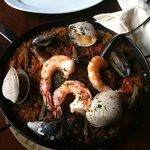 Delicious! The Paella is amazing!