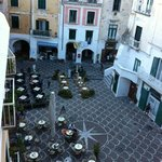 Piazza is considered one of the most picturesque in all of Italy