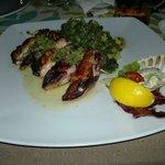 Calamari alla griglia ripieni