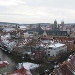 Überblick vom Turm Ägidienkirche