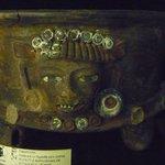 Reperto Maya nel museo dell'Hotel