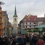 Eingang Weihnachtsmarkt am Domplatz