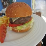 burger from mosque