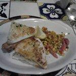 flounder sandwich tapa
