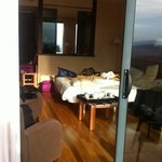 chambre vue de la terrasse