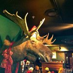 Christmas Moose at Broad Arrow Tavern