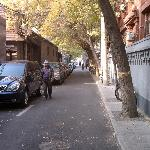 Shijia Hutong by hotel gate