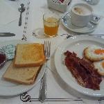 Frühstück mit wenig Auswahl