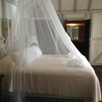Comfy bed at Cocobay Resort