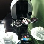 Coffee/Hot Chocolate machine in room