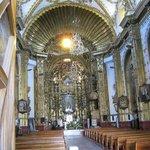 In the basilica.