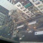 Vista desde el piso 14 hacia calle Callao esquina Corrientes