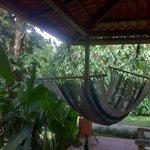 Le hamac en terrasse..très agréable !