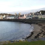 Part of Portpatrick harbour and village