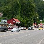 The Main Street in Cherokee, NC
