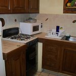 Two bedroom suite kitchenette