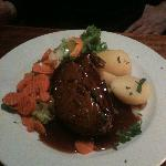 meat loaf with vegetables and boiled potatoes-2