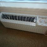 A new heater that blew cool air not hot.