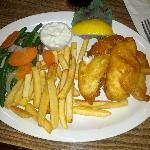 Fish and Chips with Veggies