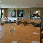 Conference Lounge and Executive Lounge with commanding views
