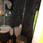 Small Toilet area