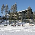 Hotel Kalevala, offering snowmobile safaries