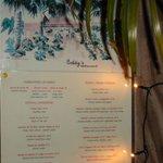 Eddy's menu